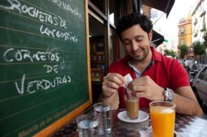 El desayuno en Sevilla